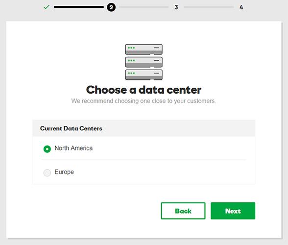 choose data center wordpress hosting
