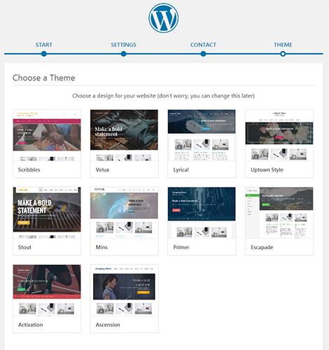 choose wordpress theme