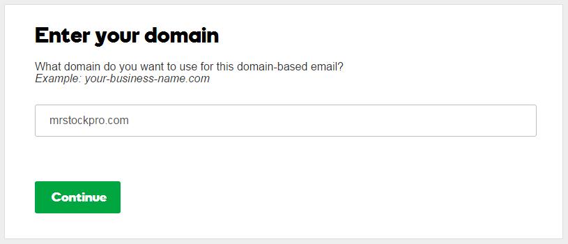 create godaddy email