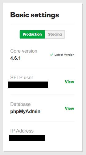 godaddy hosting ftp details