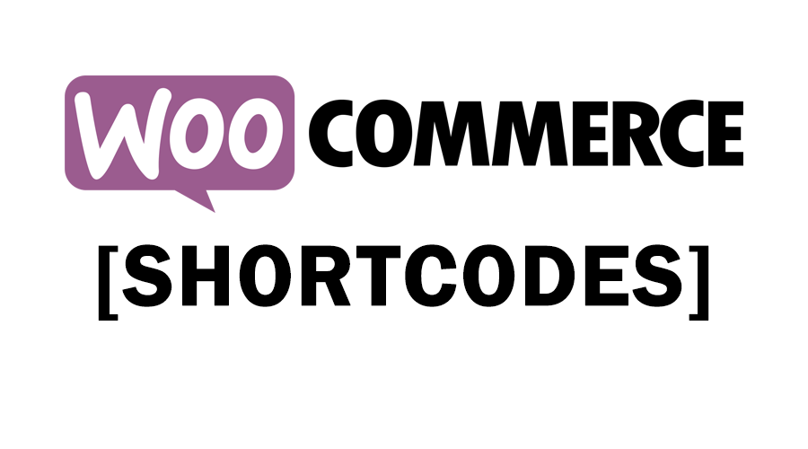 woocommerce shortcodes list