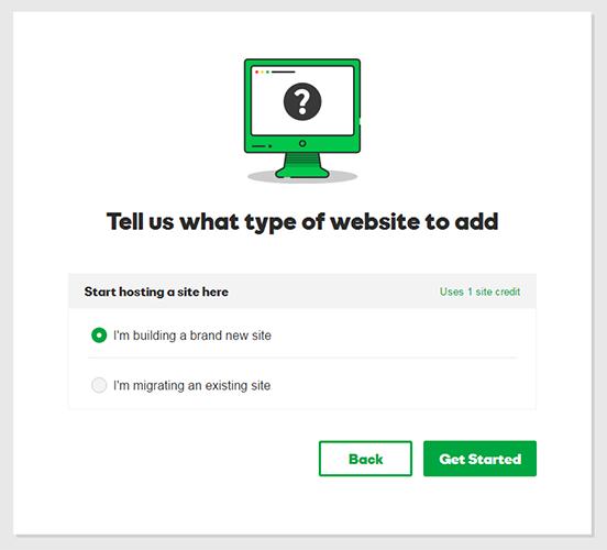 wordpress hosting what type of site